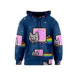 Nyan Cat Kids  Zipper Hoodie