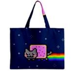 Nyan Cat Zipper Mini Tote Bag