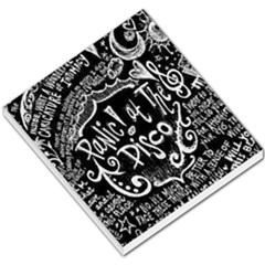 Panic ! At The Disco Lyric Quotes Small Memo Pads by Onesevenart