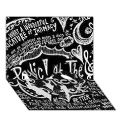 Panic ! At The Disco Lyric Quotes Love Bottom 3d Greeting Card (7x5) by Onesevenart