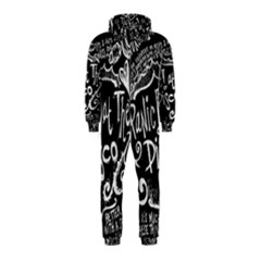 Panic ! At The Disco Lyric Quotes Hooded Jumpsuit (kids) by Onesevenart