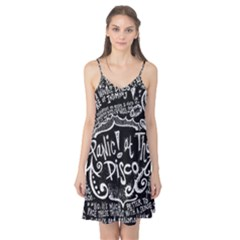 Panic ! At The Disco Lyric Quotes Camis Nightgown by Onesevenart