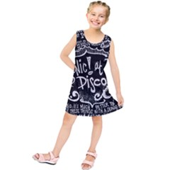 Panic ! At The Disco Lyric Quotes Kids  Tunic Dress by Onesevenart