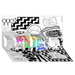 Panic ! At The Disco BELIEVE 3D Greeting Card (8x4)