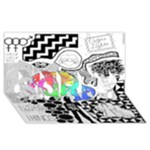 Panic ! At The Disco SORRY 3D Greeting Card (8x4)