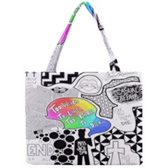 Panic ! At The Disco Mini Tote Bag by Onesevenart