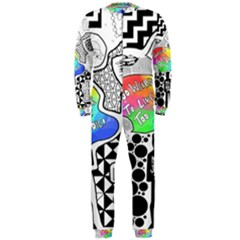 Panic ! At The Disco Onepiece Jumpsuit (men)  by Onesevenart