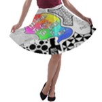 Panic ! At The Disco A-line Skater Skirt