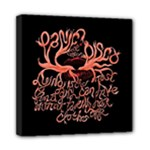 Panic At The Disco   Lying Is The Most Fun A Girl Have Without Taking Her Clothes Mini Canvas 8  x 8