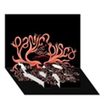 Panic At The Disco   Lying Is The Most Fun A Girl Have Without Taking Her Clothes LOVE Bottom 3D Greeting Card (7x5)