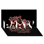 Panic At The Disco   Lying Is The Most Fun A Girl Have Without Taking Her Clothes PARTY 3D Greeting Card (8x4)