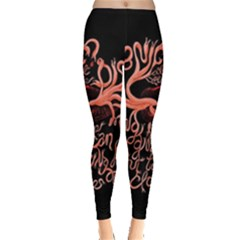 Panic At The Disco   Lying Is The Most Fun A Girl Have Without Taking Her Clothes Leggings  by Onesevenart