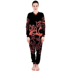 Panic At The Disco   Lying Is The Most Fun A Girl Have Without Taking Her Clothes Onepiece Jumpsuit (ladies)  by Onesevenart