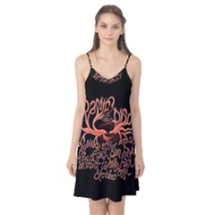 Panic At The Disco   Lying Is The Most Fun A Girl Have Without Taking Her Clothes Camis Nightgown by Onesevenart