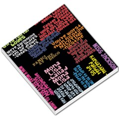 Panic At The Disco Northern Downpour Lyrics Metrolyrics Small Memo Pads by Onesevenart
