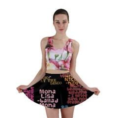 Panic At The Disco Northern Downpour Lyrics Metrolyrics Mini Skirt by Onesevenart