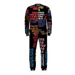 Panic At The Disco Northern Downpour Lyrics Metrolyrics Onepiece Jumpsuit (kids) by Onesevenart