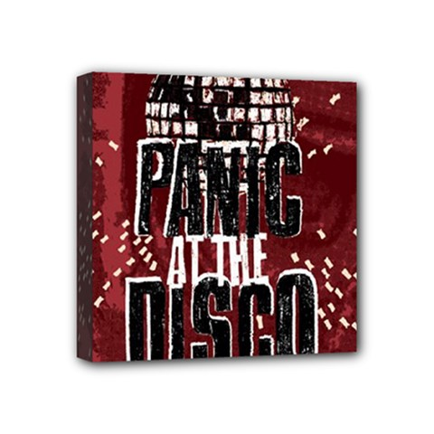 Panic At The Disco Poster Mini Canvas 4  X 4  by Onesevenart