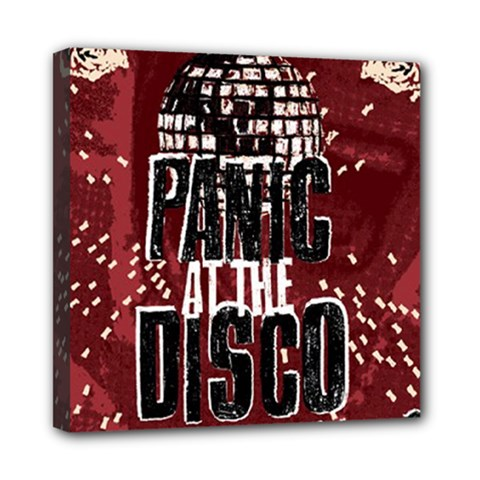 Panic At The Disco Poster Mini Canvas 8  X 8  by Onesevenart