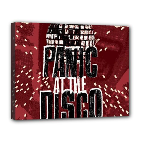 Panic At The Disco Poster Canvas 14  X 11  by Onesevenart