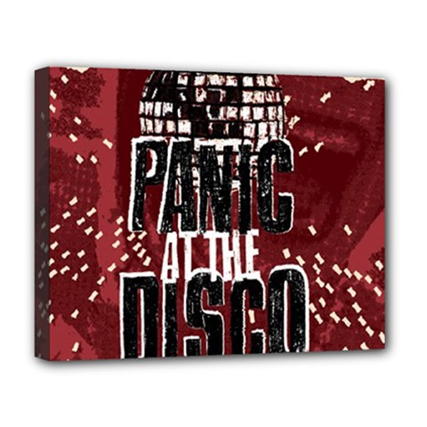 Panic At The Disco Poster Deluxe Canvas 20  X 16   by Onesevenart