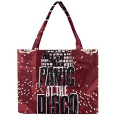 Panic At The Disco Poster Mini Tote Bag by Onesevenart