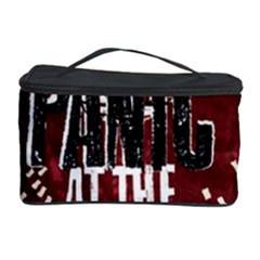 Panic At The Disco Poster Cosmetic Storage Case by Onesevenart