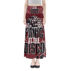 Panic At The Disco Poster Maxi Skirts by Onesevenart