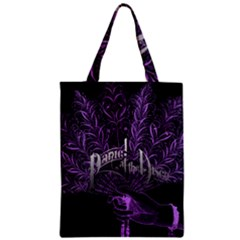 Panic At The Disco Zipper Classic Tote Bag by Onesevenart