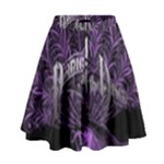 Panic At The Disco High Waist Skirt