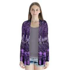 Panic At The Disco Drape Collar Cardigan by Onesevenart