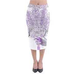 Panic At The Disco Midi Pencil Skirt by Onesevenart