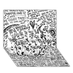 Panic! At The Disco Lyric Quotes You Are Invited 3d Greeting Card (7x5) by Onesevenart