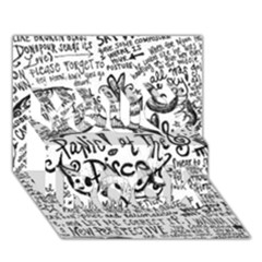 Panic! At The Disco Lyric Quotes You Rock 3d Greeting Card (7x5) by Onesevenart