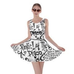 Panic! At The Disco Lyric Quotes Skater Dress by Onesevenart