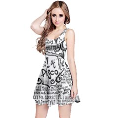 Panic! At The Disco Lyric Quotes Reversible Sleeveless Dress by Onesevenart