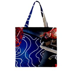 Panic! At The Disco Released Death Of A Bachelor Zipper Grocery Tote Bag by Onesevenart