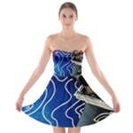 Panic! At The Disco Released Death Of A Bachelor Strapless Bra Top Dress