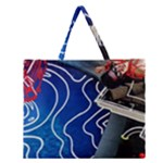 Panic! At The Disco Released Death Of A Bachelor Zipper Large Tote Bag