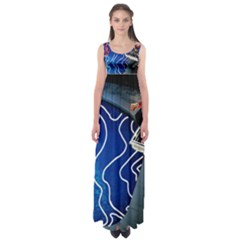 Panic! At The Disco Released Death Of A Bachelor Empire Waist Maxi Dress by Onesevenart