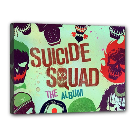 Panic! At The Disco Suicide Squad The Album Canvas 16  X 12  by Onesevenart