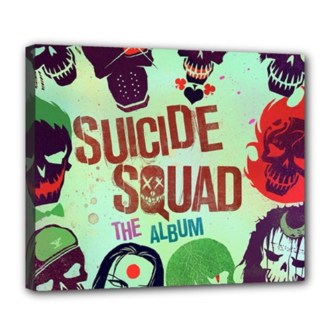 Panic! At The Disco Suicide Squad The Album Deluxe Canvas 24  X 20   by Onesevenart