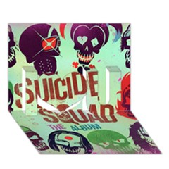 Panic! At The Disco Suicide Squad The Album I Love You 3d Greeting Card (7x5) by Onesevenart
