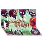 Panic! At The Disco Suicide Squad The Album Best Friends 3D Greeting Card (8x4)