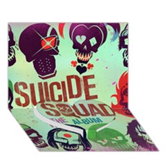 Panic! At The Disco Suicide Squad The Album Heart Bottom 3d Greeting Card (7x5) by Onesevenart