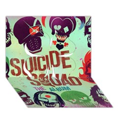 Panic! At The Disco Suicide Squad The Album Clover 3d Greeting Card (7x5) by Onesevenart