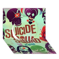 Panic! At The Disco Suicide Squad The Album Circle 3d Greeting Card (7x5) by Onesevenart