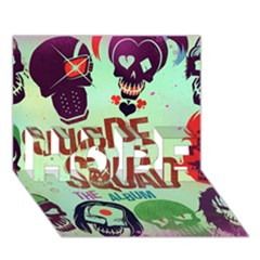 Panic! At The Disco Suicide Squad The Album Hope 3d Greeting Card (7x5) by Onesevenart