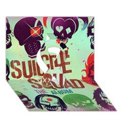 Panic! At The Disco Suicide Squad The Album Ribbon 3d Greeting Card (7x5) by Onesevenart