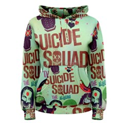 Panic! At The Disco Suicide Squad The Album Women s Pullover Hoodie by Onesevenart